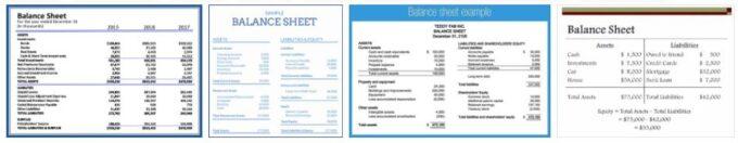 Balance Sheet Date
