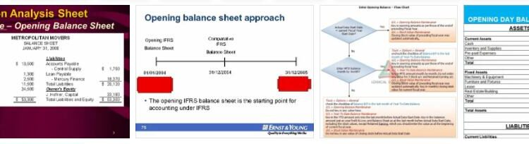Meaning of Opening Balance